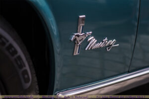 Detail vom Mustang