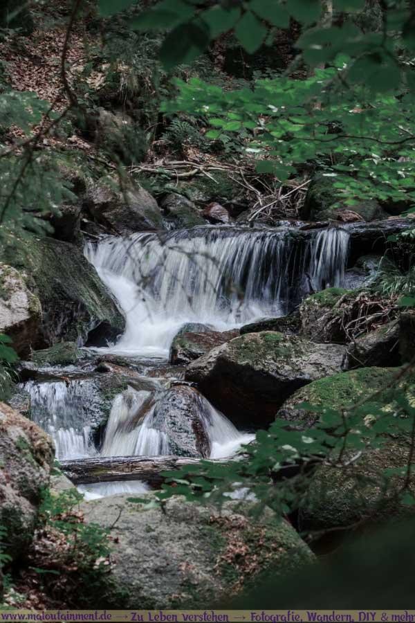 Wasserfall im Harz - Ilsenburg