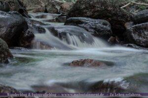 Langzeitbelichtung von Ilsetaler Wasserfälle